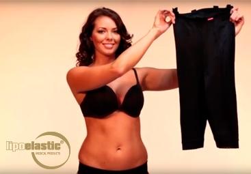Comment habiller correctement les vêtements de compression post-opératoires de LIPOELASTIC® après une liposuccion?